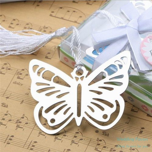 heart shape butterfly bookmark favors94