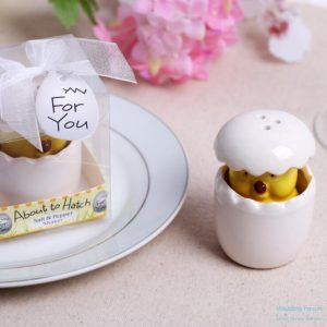 "Baby Chick Salt & Pepper Shaker – ""About to Hatch"""