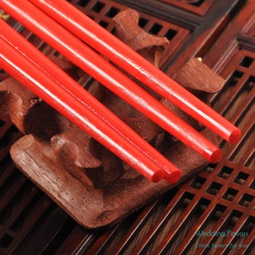 Chinese Style Wood Chopsticks Favors299