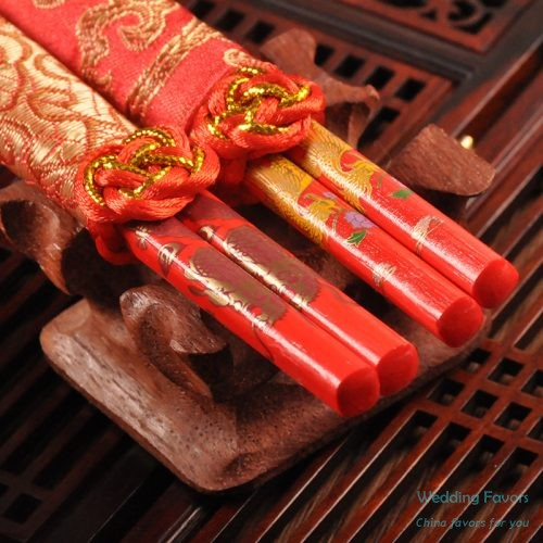 Chinese Style Wood Chopsticks Favors304