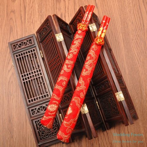 Chinese Style Wood Chopsticks Favors409