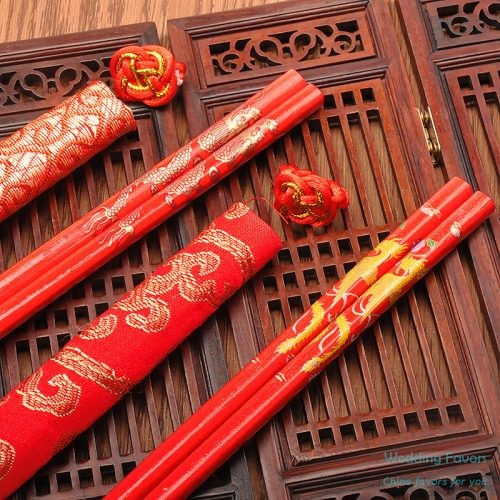 Chinese Style Wood Chopsticks Favors525