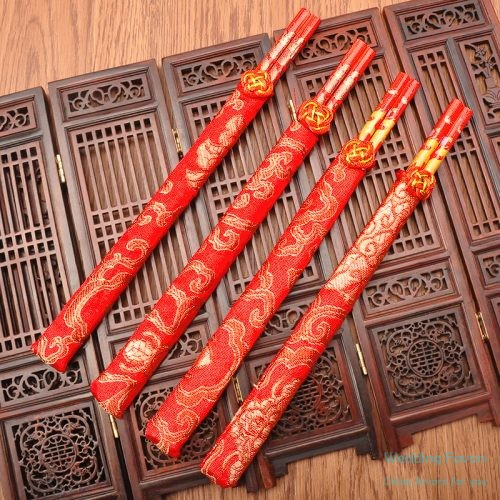 Chinese Style Wood Chopsticks Favors556