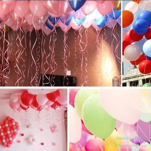 Pure latex biodegradable party balloons114
