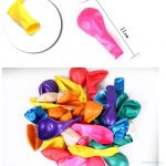 Pure latex biodegradable party balloons120