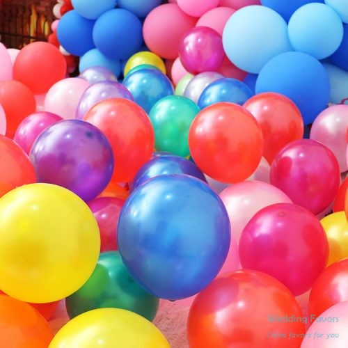 Pure latex biodegradable party balloons176