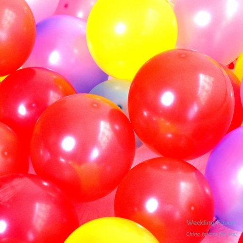 Pure latex biodegradable party balloons254