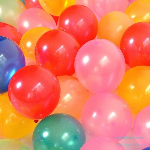 Pure latex biodegradable party balloons298