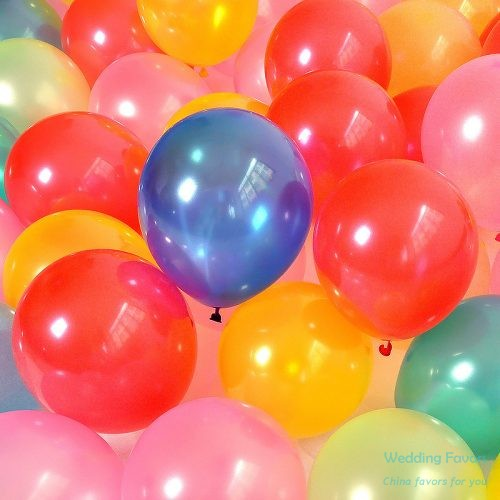 Pure latex biodegradable party balloons312