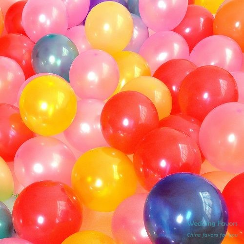 Pure latex biodegradable party balloons339