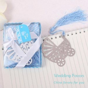 Baby Stroller Bookmark Favors55804