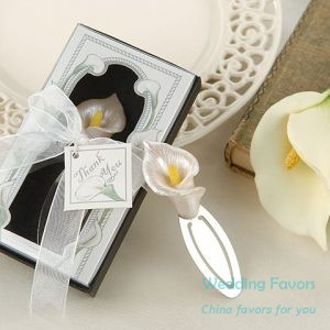 Calla lily Bookmark Favors59425