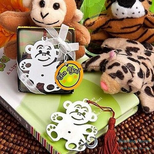 Merry Monkey Bookmark Party Favors498