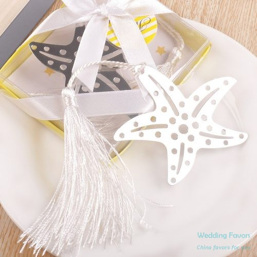Metal Bookmark Starfish Bookmark Favors182