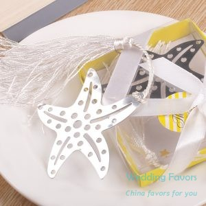 Metal Bookmark Starfish Bookmark Favors193