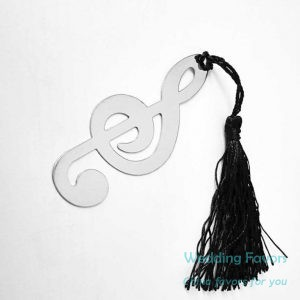 Metal Timeless Duet Bookmark with Tassel29