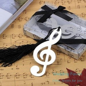 Metal Timeless Duet Bookmark with Tassel431