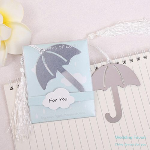 Metal Umbrella Bookmark Favors301