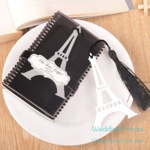 Retro Eiffel Tower Bookmarks With Tassel215