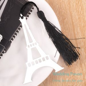 Retro Eiffel Tower Bookmarks With Tassel221