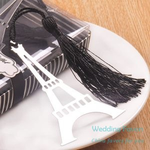 Retro Eiffel Tower Bookmarks With Tassel231