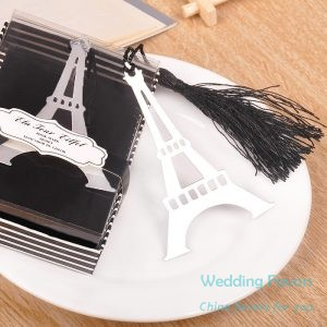Retro Eiffel Tower Bookmarks With Tassel236