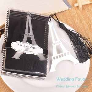 Retro Eiffel Tower Bookmarks With Tassel248
