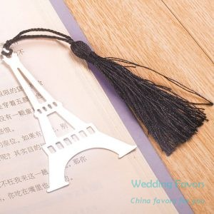 Retro Eiffel Tower Bookmarks With Tassel269