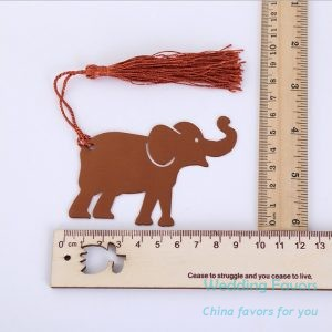 Stainless Steel Lucky Elephant Bookmark120
