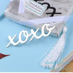 Stainless Steel XOXO Hugs & Kisses Bookmark103