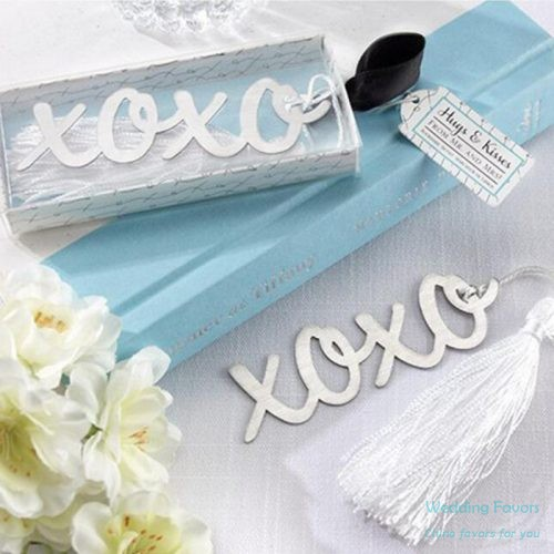 Stainless Steel XOXO Hugs & Kisses Bookmark353