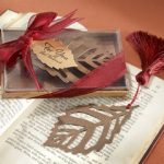 Bookmark Turning Leaves Silk Tassel