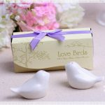 Love Birds Salt og Pepper Shaker Unike favoriserer 103628