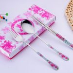 Chinese Style Dinnerware Chopstick Spoon Fork Set103272