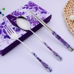 Chinese Style Dinnerware Chopstick Spoon Fork Set108211
