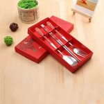 Chinese Style Dinnerware Chopstick Spoon Fork Set167856