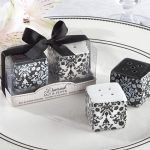Damask Ceramic Salt and Pepper Shakers104734