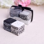Damask Ceramic Salt and Pepper Shakers108774