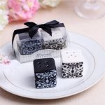Damask Ceramic Salt and Pepper Shakers135828