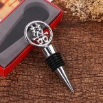 Elegant Double Happiness Wine Bottle Stopper141624