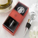 Elegant Double Happiness Wine Bottle Stopper64609