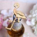 Golgen Flamingo Bottle Opener100980