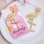 Golgen Flamingo flaskeåbner99830