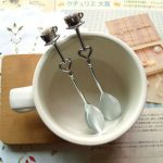 Heart Shaped Love coffee tea measuring Spoon83352