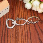 Infinity Silver Metal Bottle Opener113613