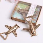 Let the Adventure Begin Airplane Bottle Opener Favors153750