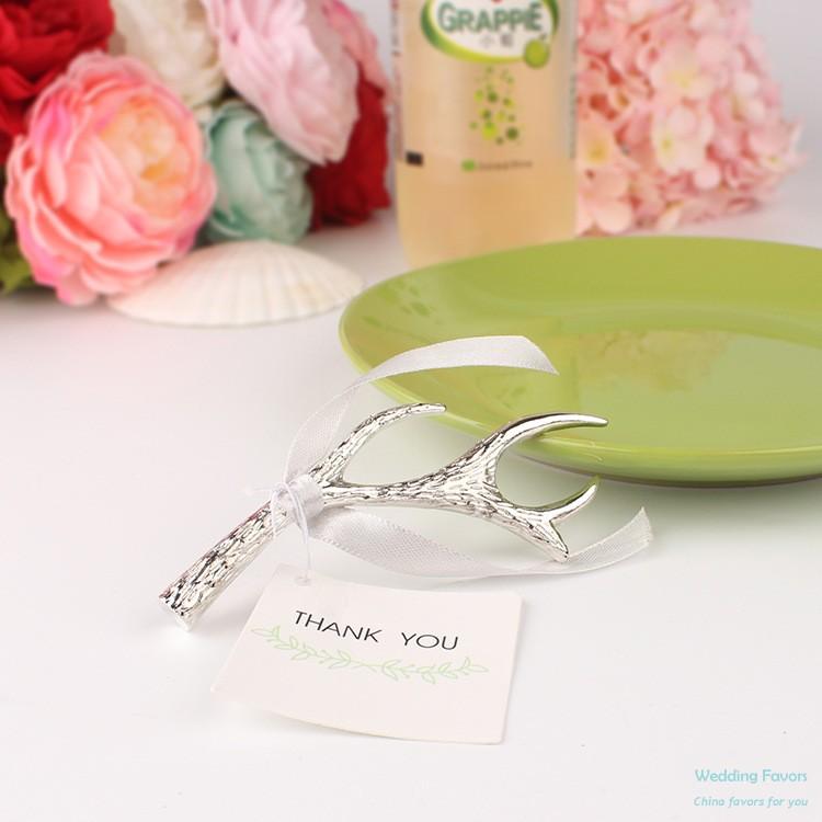 Silver Antler Bottle Opener Wedding Favors China Wedding Favors