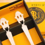 Stainless Steel Smiling Face Tableware Fork Scoop Set38797
