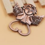 Heart Shaped Cherub Copper Bottle Opener35